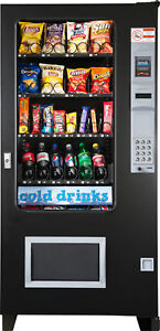 Automated Merchandising System Soda snack candy Combo Glass Front Vending Mach