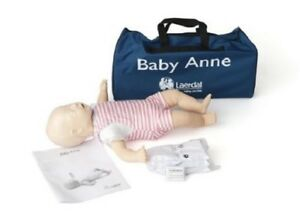 Baby Cpr Manikin Mannequin Doll Trainer Infant Training Model Realistic Rescue