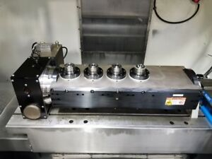2013 Haas T5c4 Cnc 4th 5th Axis Rotary Table Indexer 5c Collet Closer