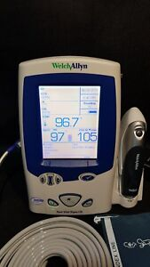 Welch Allyn Spot Vital Signs Lxi Oximax Spo2 Nibp Temp