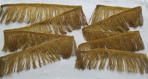 Vintage Gold Metallic Rope Cording Med Patina Nice Quality French