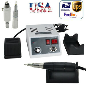 Usa Dental Lab Micro Motor Handpiece 35k Polishing Air Motor Contra Angle