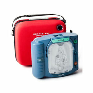 Philips Home Aed With Carry Case Smart Pads Cartridge Battery