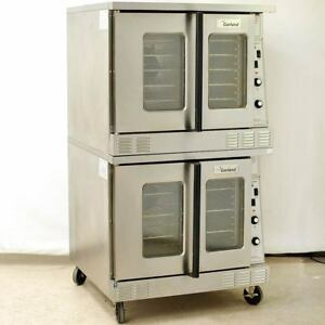 Garland Master 200 Double Stacked Mco gs 10s Gas Commercial Convection Oven