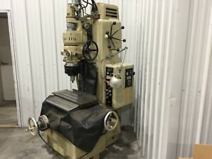 Moore G18 Vertical Jig Grinder 3 Jig Bore Cabinet Rotary Table