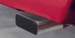 1985 1991 Corvette C4 Rectangle Stainless Steel Exhaust Tips Extensions 603608
