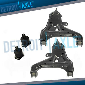 4pc Front Lower Control Arm Upper Ball Joint Chevy Blazer S10 Gmc Jimmy 4wd