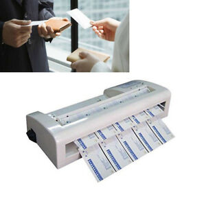 Usa 110v Automatic Electric A4 Paper Business Card 90x 54mm Cutting Machine