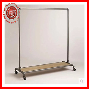 Wgx Design For You Industrial Pipe Clothing Rack Garment Rack Pipeline Vintag