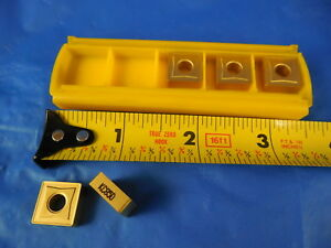 5 Pcs New Kennametal Snmg 432 Kc850 Kenloc Carbide Inserts Machine Shop Tools
