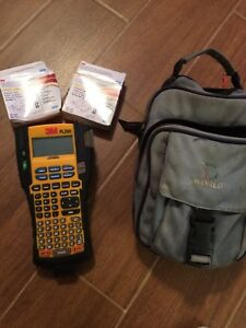 3m Pl200 Dymo Industrial Label Maker And Extras