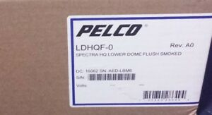Pelco Ldhqf 0 Spectra High Quality Lower Dome Bubble Smoked