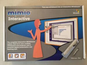 Mimio Interactive Whiteboard System Virtual Ink 600 0045 Used