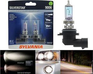 Sylvania Silverstar 9006 Hb4 55w Two Bulbs Head Light Replace Upgrade Low Beam