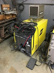 Esab Heliarc 352 Ac dc Welding Power Source Tig Welder W Cooler Gun