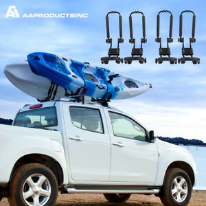Folding Kayak Carrier Rack Canoe Boat Surf Ski Top Roof Mount Car Truck Suv