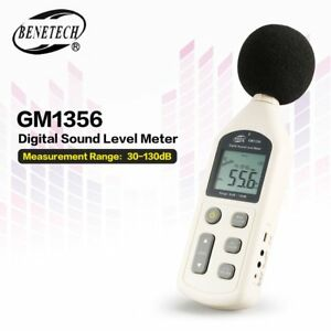 Gm1356 30 130db A c Digital Sound Level Meter Usb Noise Volume Decibel Tester Lu