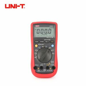 Uni t Ut61c 6000 Counts Digital Multimeter Auto Range Ac dc Voltmeter Current Ln