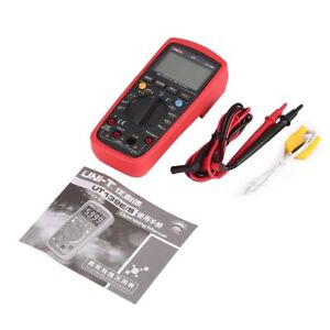 Uni t Ut139e Digital Multimeter Rms Ac dc Voltmeter Lpf Filter Loz Temperature N