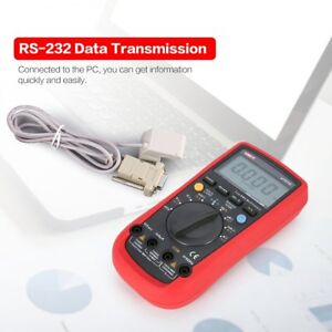 Uni t Ut61d 6000 Counts Digital Multimeter True Rms Ac dc Voltmeter Current Ln