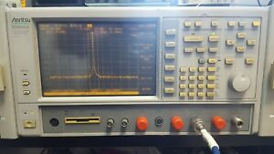 Anritsu Ms8604a 100hz To 8 5ghz Spectrum Analyzer With Sound Demodulation