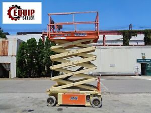 2013 Jlg 3248rs Electric Boom Man Aerial Scissor Lift 32 Ft Height