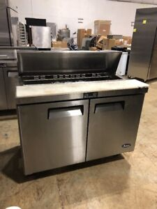 Atosa Msf8302 48 Commercial Sandwich Unit Prep Table Cooler Used