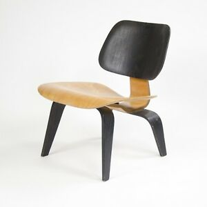 Eames Evans Herman Miller 1947 Lcw Plywood Lounge Chair Original Museum Quality