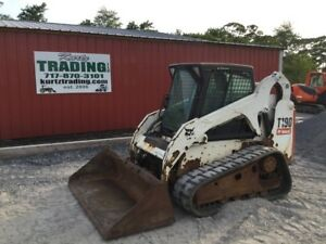 2009 Bobcat T190 Tracked Skid Steer Loader W Cab