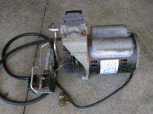 Devilbiss 4 Hp Oil Free Air Compressor Z mo 9045 Ge 5kcr49sn2137x Motor