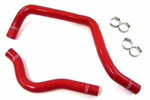 Hps Red Silicone Radiator Hose Kit 1997 01 Acura Integra Type R