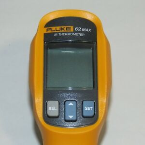 Fluke 62 Max Ir Thermometer Non Contact 20 To 932 Degree F Range As Is
