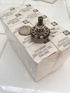 Allen Bradley 500 Ohm Linear 2 Watt Potentiometer Ja1n048s501ua Lot 10 Rheostat