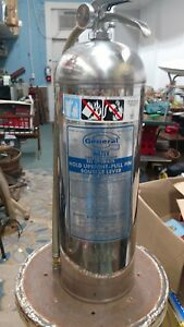 2 1 2 Gallon general Water Pressure Fire Extinguisher