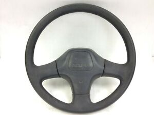 90 91 1990 1991 Integra Rs Steering Wheel Without Auto Cruise Black Used Oem