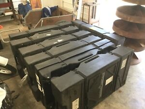 Lot Of 7 Wheeled Cases For Trade Show Booth Components