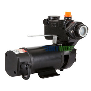 Dc48v Automatic Self priming Water Pump Farm Ranch 280w 98 4ft Lift 32 8 Suction