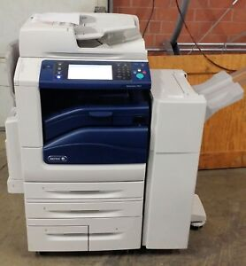 Xerox Workcentre 7845 Color Copier Low Meter