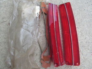 1967 Amc Rambler Ambassador Station Wagon Nos Tail Light Lenses