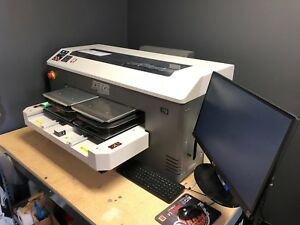 Dtg Digital M2 Direct To Garment Printer In Excellent Condition Barely Used