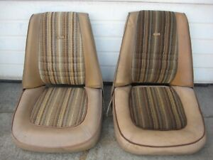 Rat Rod Bucket Seats 1960 s 1970 s Ford Dodge Chevy Plymouth Pinto Hot Rod