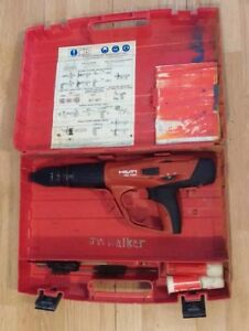 Hilti Dx 460 Box Set W Oil Key Clean Manual Works Great Powder Actuated Gun