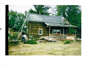 Antique Log Cabin 29 X 21 5 Logs From 1847 In Monroe Michigan German Eby