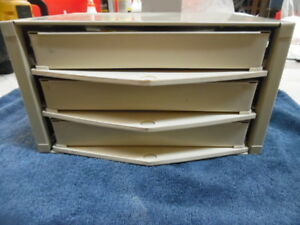 Hillman Hardware Usa Storage Cabinet 3 Drawer Steel Organizer Nuts Bolt Lot Of 2