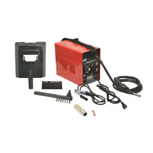 Mig 105 Flux Cored Welding Machine Auto Wire Feed Welder Cooling 60 90 Amp
