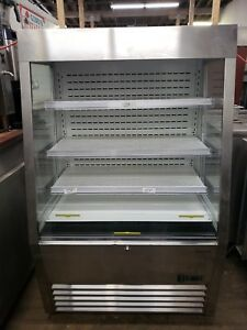 Marchia Mds390 ss 36 Open Air Refrigerated Display Case Stainless Steel 1416