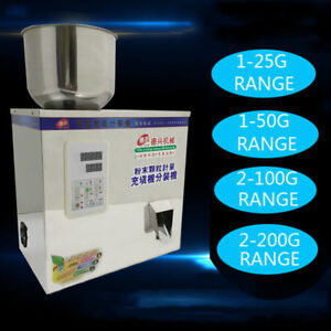 1 200g Automatic Powder Filling Machine Quantitative Filler For Powder Particle