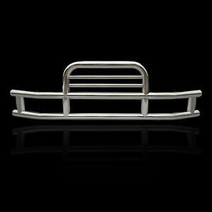 Deer Guard Bumper Chrome For Volvo Vnl With Bracket Set Grill Guard Semi Truck