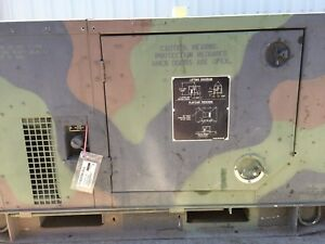 Mep 803a 10kw Diesel Generator Military 120 240 60hz 1 3 Phase 2354 Hours