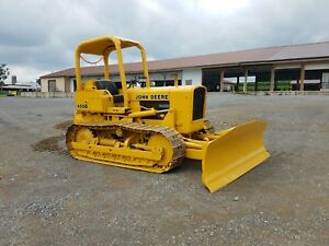 1970 John Deere 450b 6 Way Winch Dozer Tractor Diesel Bulldozer Heavy Equipment
